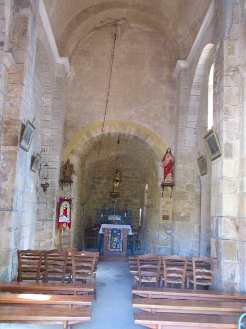 Chapelle St Turquois intérieur