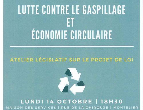 Lundi 14 octobre : Atelier législatif Célia De Lavergne