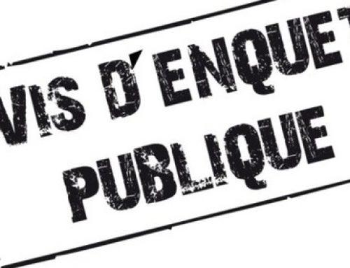 Enquête publique déviation – Rapport du commissaire enquêteur
