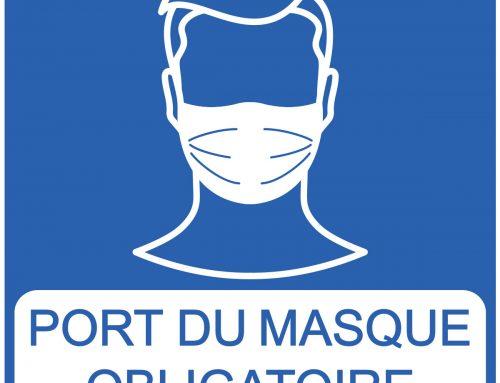 A partir du 7 septembre 2020 : port du masque obligatoire à la déchetterie